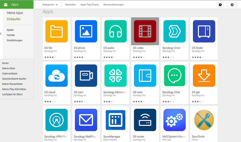 Synology Apps