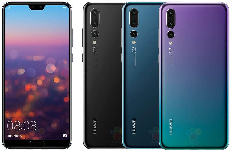 Huawei P20 (Pro) & Mate RS: alle Infos aus dem Launch Event